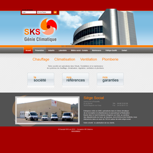 Administration site internet - SKS